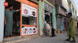 VIDEO: Aturan Rambut Pria Pengaruhi Tukang Cukur Afghanistan