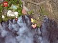 VIDEO: Gunung Spanyol Meletus, Lava Hanguskan 100 Rumah Warga