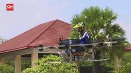 VIDEO: Intip Drone Raksasa Buatan Kamboja, Bisa Angkut Orang