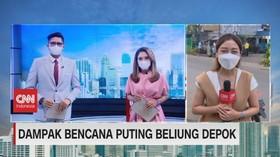 VIDEO: Dampak Bencana Puting Beliung Depok