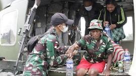 Aparat Evakuasi 17 Warga Kiwirok Papua Usai Baku Tembak KKB