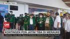 VIDEO: Kontingen PON Jatim Tiba di Merauke