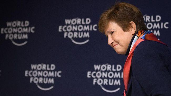 Dewan Eksekutif IMF memutuskan mempertahankan Kristalina Georgieva sebagai Direktur Pelaksana usai kasus dugaan manipulasi data EODC Bank Dunia.