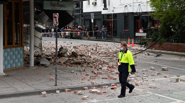 Gempa berkekuatan 6,0 magnitudo mengguncang kawasan dekat Melbourne, Australia. Kemlu mengimbau WNI di Australia untuk menghubungi KJRI  jika butuh bantuan.