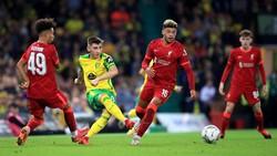 Piala Liga Inggris: Liverpool Gebuk Norwich 3-0, Maju ke Babak Keempat