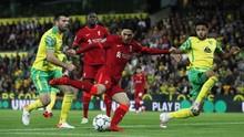 Hasil Piala Liga: Liverpool Tekuk Norwich City 3-0
