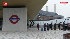 VIDEO:  Stasiun Kereta Bawah Tanah London Terbaru Dibuka