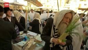 VIDEO: Ribuah Umat Yahudi Rayakan Sukkot di Tengah Pandemi