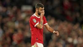 Fernandes Takut Liverpool Manfaatkan Kesalahan Man Utd