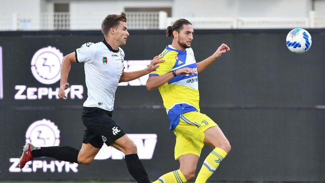 Juventus menang 3-2 atas Spezia dalam lanjutan Liga Italia di Stadion Alberto Picco, La Spezia, Rabu (22/9) malam waktu Indonesia.