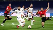 Hasil Liga Spanyol: Real Madrid Gulung Mallorca 6-1