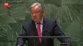 VIDEO: Sekjen PBB Juga Soroti Ketimpangan Akses Vaksin