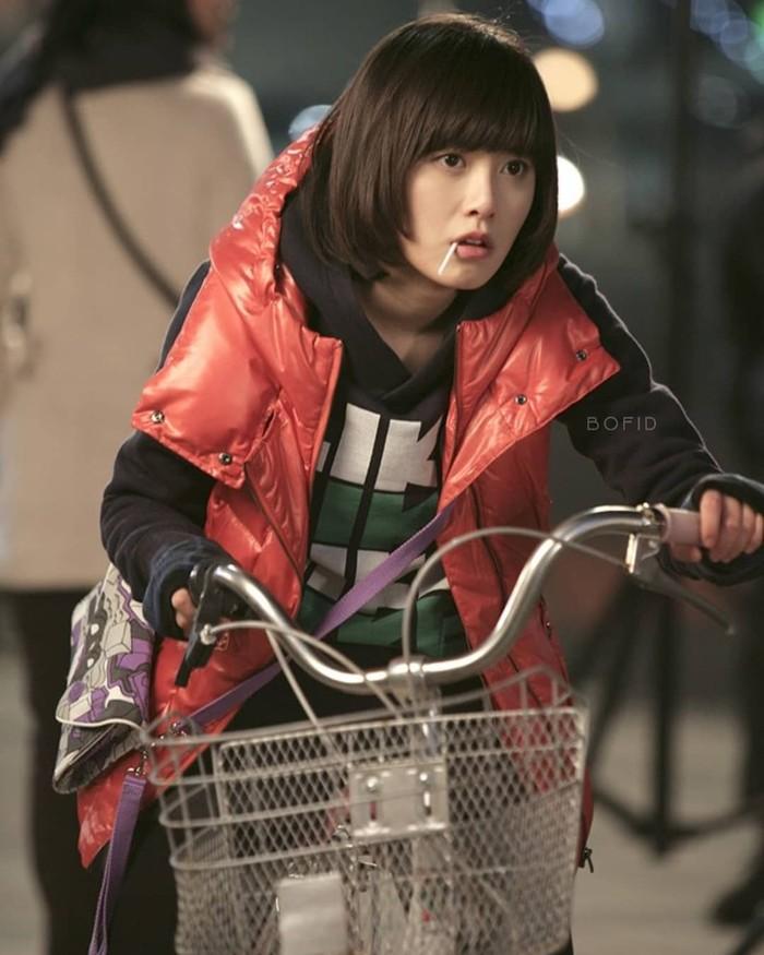 Goo Hye Sun mendapatkan banyak perhatian setelah berperan sebagai Geum Jan Di di Boys Before Flower. Putri pemilik laundry yang bikin putra konglomerat jatuh cinta./Foto : instagram.com/bofid2009
