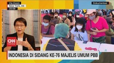 VIDEO: Indonesia di Sidang Ke-76 Majelis Umum PBB
