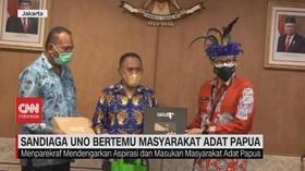 VIDEO: Sandiaga Uno Bertemu Masyarakat Adat Papua