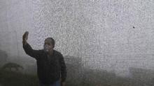 FOTO: Kabut Peru Membawa Berkah Air Bersih