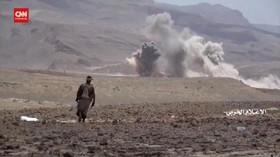 VIDEO: Perang Antara Pasukan Pemerintah Yaman Dan Houthi