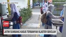 VIDEO: Jatim Sumbang Kasus Terbanyak Klaster Sekolah
