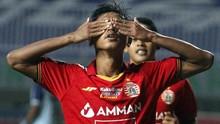 FOTO: Bhayangkara FC Tekuk Persebaya, Persija Menang Perdana