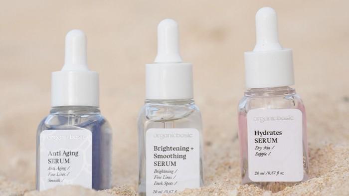 3 Varian Serum Lokal dari Organic Basic dan Masing-masing Manfaatnya untuk Kulit Wajah