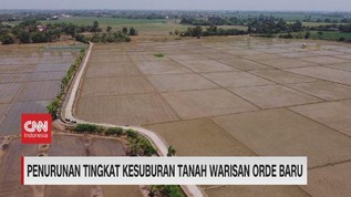 VIDEO: Penurunan Tingkat Kesuburan Tanah Warisan Orde Baru