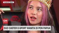 VIDEO: Duo Caster Wanita di PON Papua
