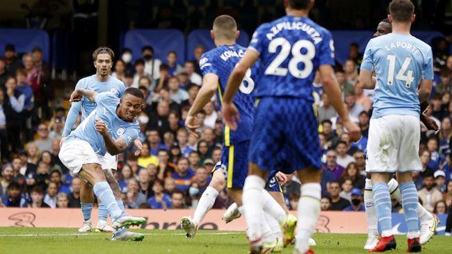 Manchester City sukses mengalahkan Chelsea 1-0 pada pertandingan Liga Inggris di Stadion Stamford Bridge, Sabtu (25/9) malam.