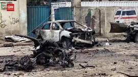 VIDEO: Bom Mobil Meledak Dekat Istana Presiden Somalia