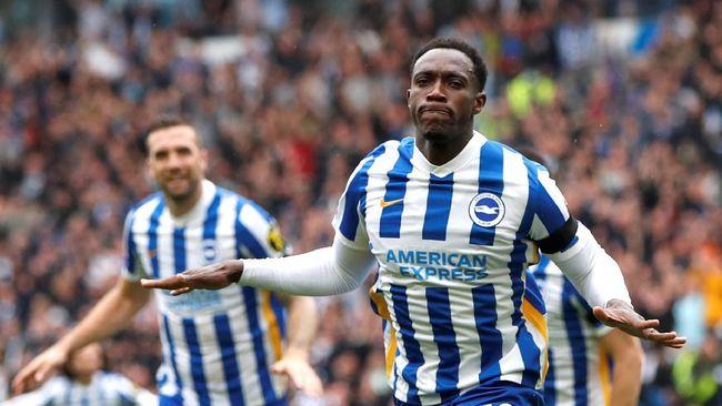 Brighton&Hove Albion punya kesempatan bagus untuk jadi pemuncak klasemen Liga Inggris di pekan keenam.
