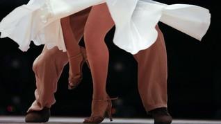FOTO: Hentakan Energik Para Penari di Kejuaraan Dunia Tango