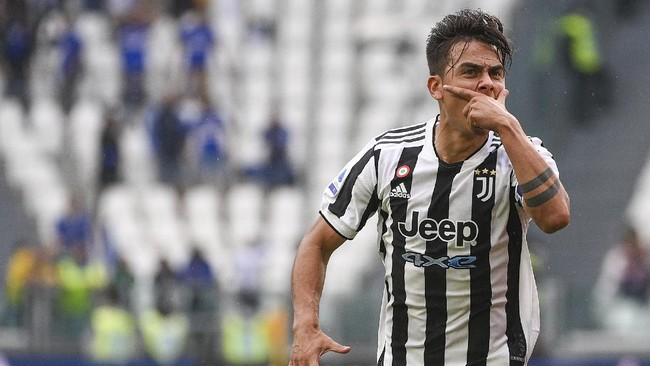 Hasil Liga Italia: Juventus Menang 3-2 atas Sampdoria