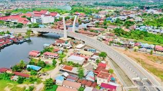 Jembatan Sei Alalak Kalsel Siap Dibuka