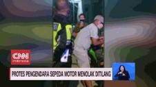 VIDEO: Protes Pengendara Motor Menolak Ditilang