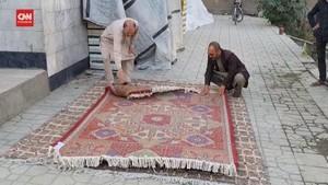 VIDEO: Pesona Karpet Afghanistan Memudar di Era Taliban