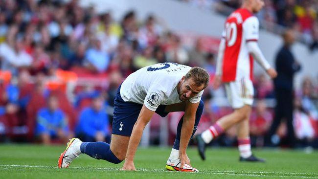 Harry Kane tampil mengecewakan saat Tottenham Hotspur takluk 1-3 dari Arsenal dalam derbi London Utara.