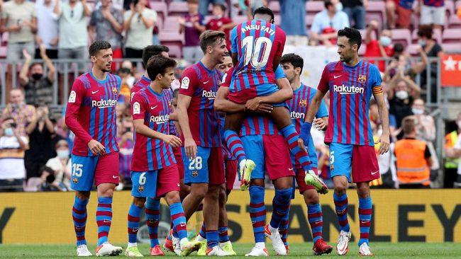 Setelah absen sejak November 2020, Ansu Fati menjadi salah satu inspirasi kemenangan Barcelona atas Levante 3-0 pada lanjutan Liga Spanyol.