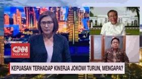 VIDEO: Kepuasan Terhadap Kinerja Jokowi Turun