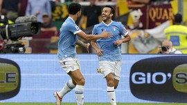 Hasil Liga Italia: 5 Gol Tercipta, Lazio Tekuk AS Roma