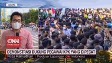 VIDEO: Peserta Demo BEM SI Membubarkan Diri