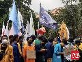 Mahasiswa Kembali Berdatangan ke KPK, Aparat Pertebal Barisan