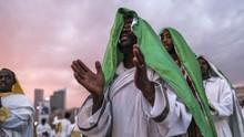 FOTO: Sukacita Rayakan Penemuan Salib Sejati di Ethiopia