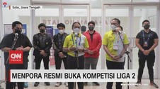 VIDEO: Menpora Resmi Buka Kompetisi Liga 2