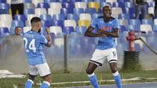 Hasil Liga Italia: Napoli Masih Sempurna Usai Tekuk Cagliari