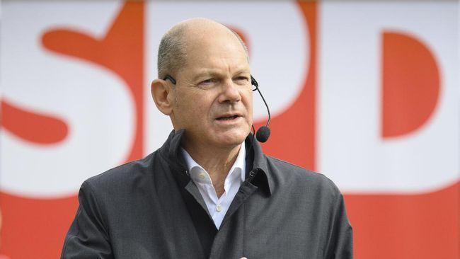 Olaf Scholz, salah satu politikus senior SPD, menjadi kandidat Kanselir Jerman penerus Merkel setelah parpol sayap kiri itu memenangkan pemilu.