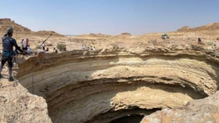 Sumur Berhout di Yaman. (Dok: Tangkapan layar)