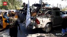 VIDEO: Pasukan Taliban Diserang, Warga Sipil Jadi Korban