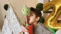 <p>Carissa mengaku selama tiga pekan berturut-turut ia dan suaminya mendekorasi rumah dengan hiasan ulang tahun. Kedua anaknya tampaknya request dekorasi sesuai keinginan masing-masing nih. (Foto: Instagram @carissa_puteri)</p>
