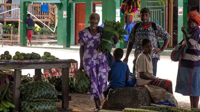 Vanuatu kerap mengkritik Indonesia soal Papua, negara itu memiliki populasi penduduk yang tak sebanyak Kota Jayapura, Papua.
