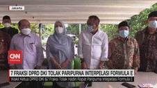 VIDEO: 7 Fraksi DPRD DKI Tolak Paripurna Interpelasi Formula