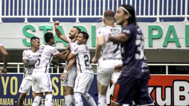 Hasil Liga 1 2021: Bali United Diimbangi Borneo FC